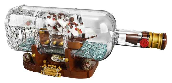 Lego Ideas Ship in a Bottle