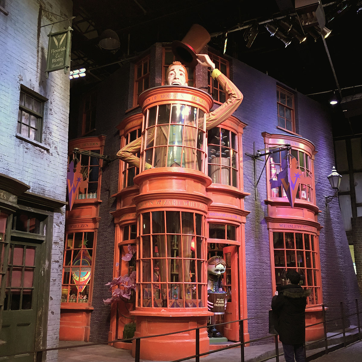 The Making of Harry Potter - WB Studio Tour London - Diagon Alley