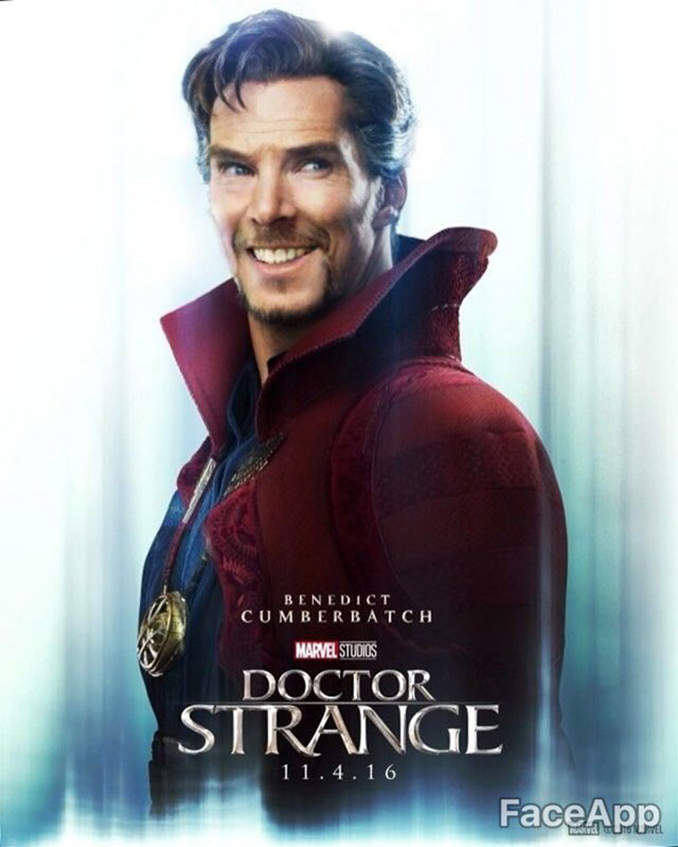 capitana marvel doctor strange